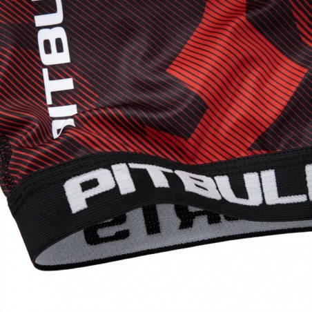 Pit Bull Szorty VT Dillard Czerwone 6