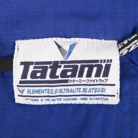 Tatami Kimono/Gi Elements Ultralite 2.0 Niebieskie 9