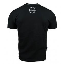 Octagon T-shirt Logo Smash Czarny 1