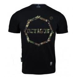 Octagon T-shirt Logo Camo 1