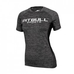 Pitbull Rashguard Damski Performance Pro Plus Grafitowy 1