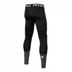 Pit Bull Leginsy Performance Pro Plus Czarne/Grafitowe 1