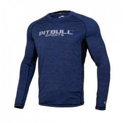Pitbull Rashguard Performance Pro Plus Granatowy Długi Rękaw 1