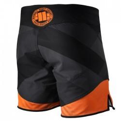 Pitbull Spodenki MMA Mesh Sports Back Czarne 1