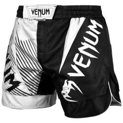 Venum Spodenki MMA NoGi 2.0 Czarne/Białe 1