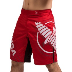 Hayabusa Spodenki MMA Chikara 4 Czerwone 1