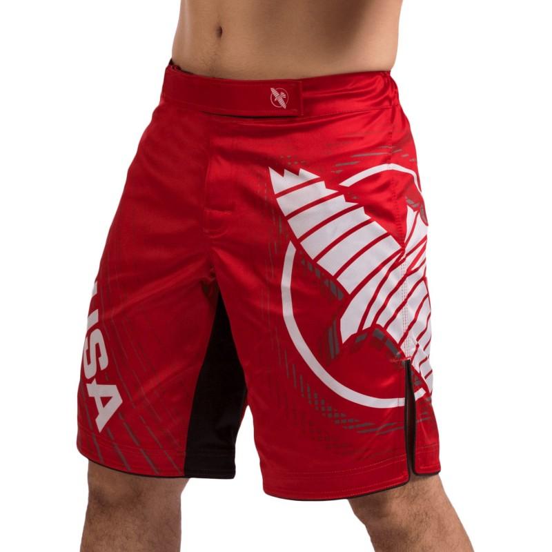Hayabusa Spodenki MMA Chikara 4 Czerwone