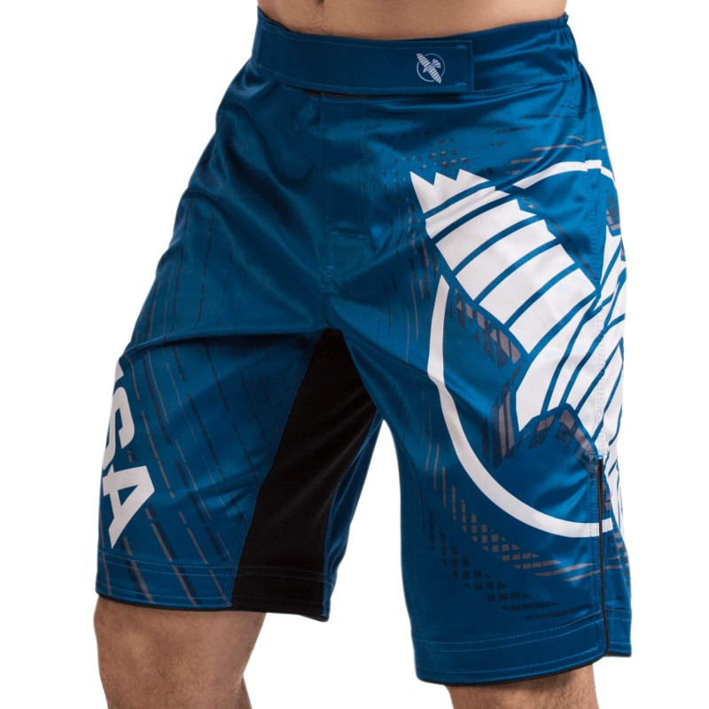 Hayabusa Spodenki MMA Chikara 4 Niebieskie