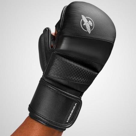 Hayabusa Rękawice do MMA T3 7oz Czarne/Czarne 2