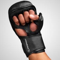 Hayabusa Rękawice do MMA T3 7oz Czarne/Czarne 1