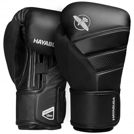 Hayabusa Rękawice bokserskie T3 Czarne/Czarne 1