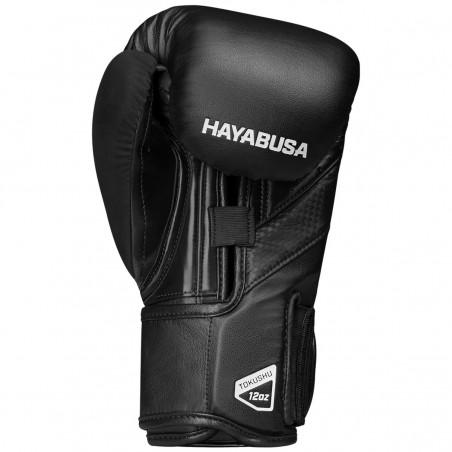 Hayabusa Rękawice bokserskie T3 Czarne/Czarne 4