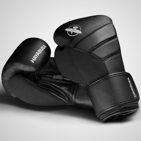 Hayabusa Rękawice bokserskie T3 Czarne/Czarne 8