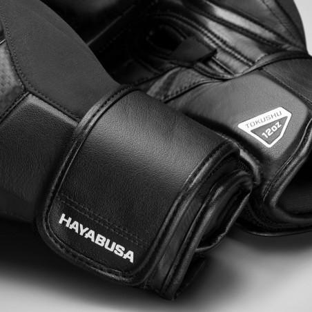 Hayabusa Rękawice bokserskie T3 Czarne/Czarne 10