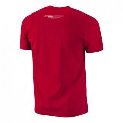 Pitbull T-shirt Classic Logo 19 Czerwony 1