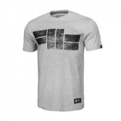 Pitbull T-shirt Classic Logo 19 Szary 1