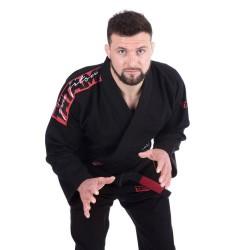 Tatami Kimono/Gi BJJ Red Bar Czarne 1