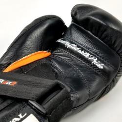 Rival Rękawice Bokserskie Przyrządowe RFX-Guerrero HDE-F Czarne/Pomarańczowe 1