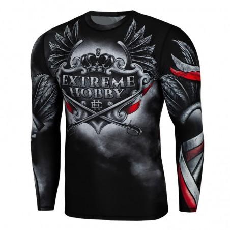 Extreme Hobby Rashguard Husarz Długi Rękaw Czarny 1