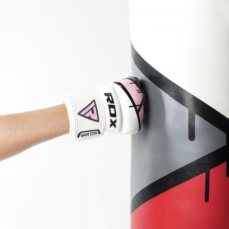 RDX Rękawice do MMA GGL- T7 Różowe 2