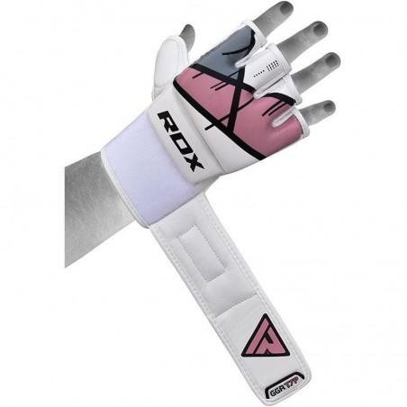 RDX Rękawice do MMA GGL- T7 Różowe 3