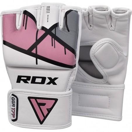 RDX Rękawice do MMA GGL- T7 Różowe 4