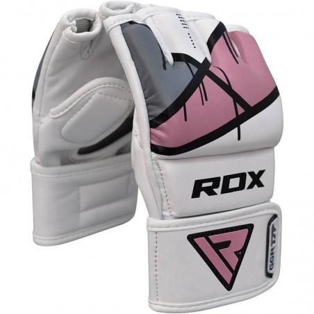 RDX Rękawice do MMA GGL- T7 Różowe 6