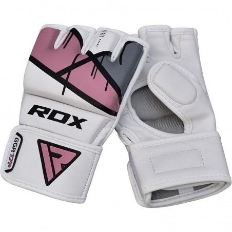 RDX Rękawice do MMA GGL- T7 Różowe 8