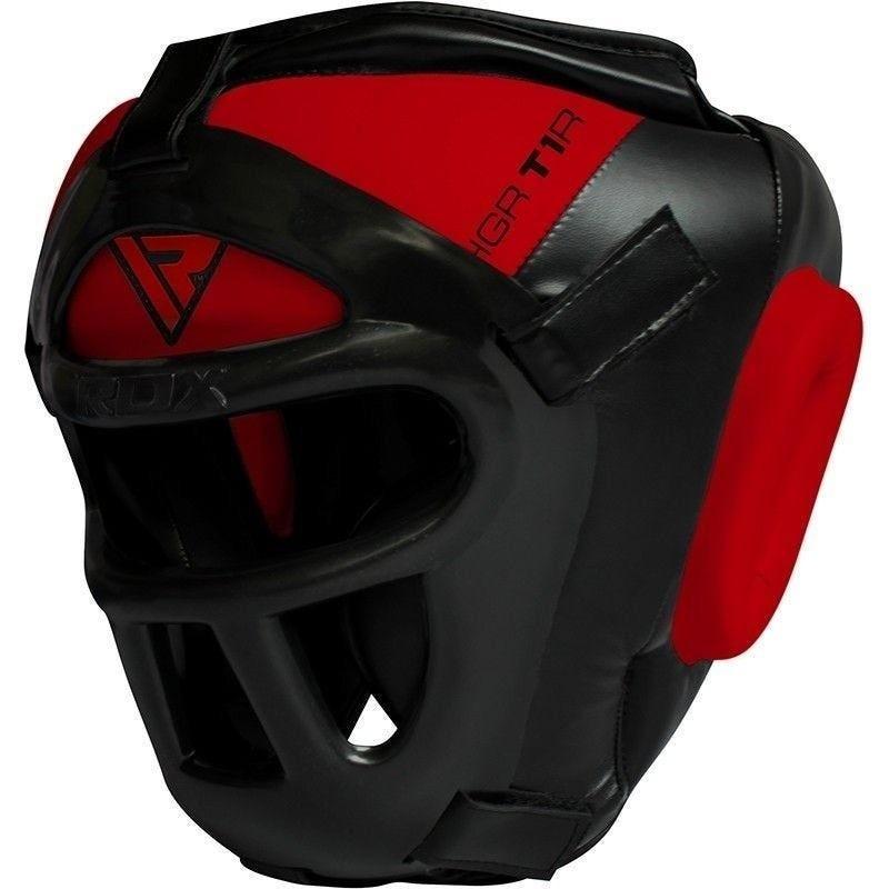 RDX Kask Bokserski HGX-T1 Grill Czerwony