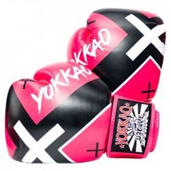 Yokkao Rękawice bokserskie X Różowe 1
