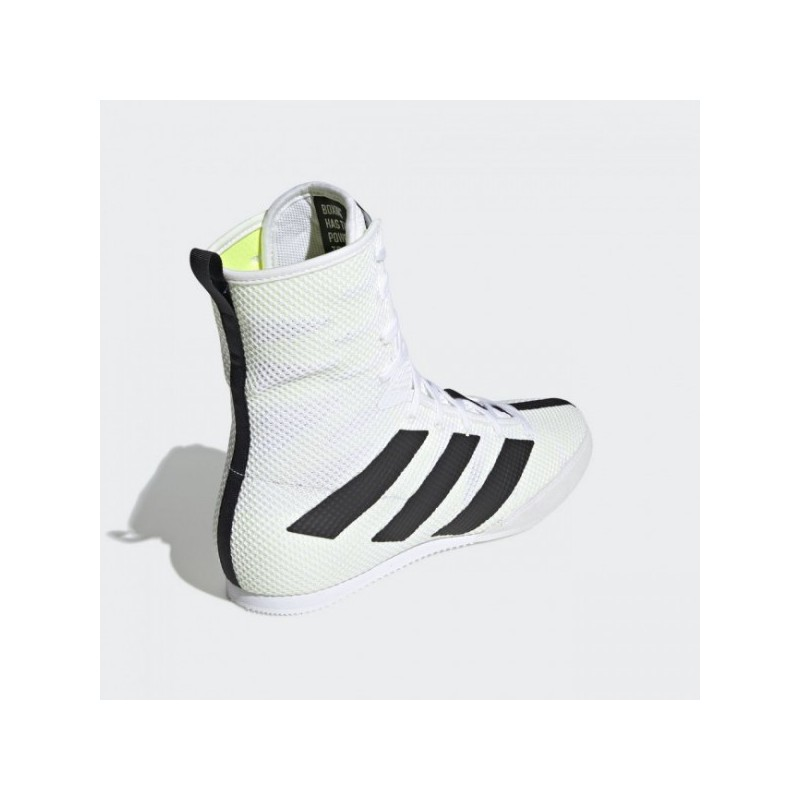 Buty bokserskie ADIDAS BOX HOG 3 białe