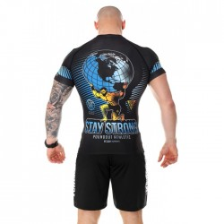 Poundout Rashguard Stay Strong