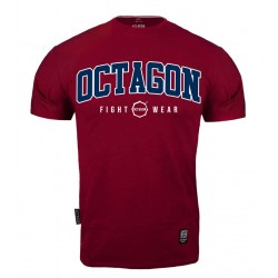 Octagon T-shirt FW Burgund