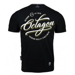 Octagon T-shirt Elite Czarny