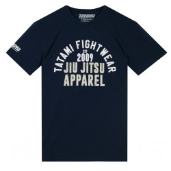 Tatami T-shirt Retro Granatowy