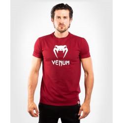 Venum Classic T-shirt Bordowy