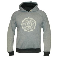 Bad Boy Bluza z kapturem Crest Szara 1