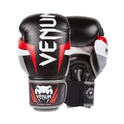 Venum Rękawice bokserskie Elite Czarne  1