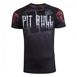 Pit Bull Rashguard Terror Devil Krótki Rękaw Czarny 1