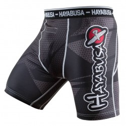 Hayabusa Szorty Metaru Compression Czarne 1