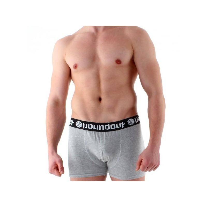 Poundout Bokserki Weight in Szare
