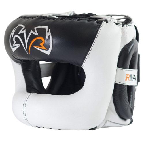 Rival Kask Bokserski z Ochroną Nosa RHGFS3 Face-Saver Biały