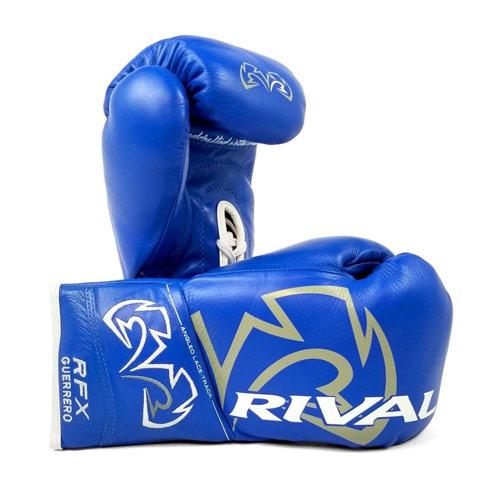 Rival Rękawice Bokserskie RFX-Guerrero Pro Fight HDE-F Niebieskie