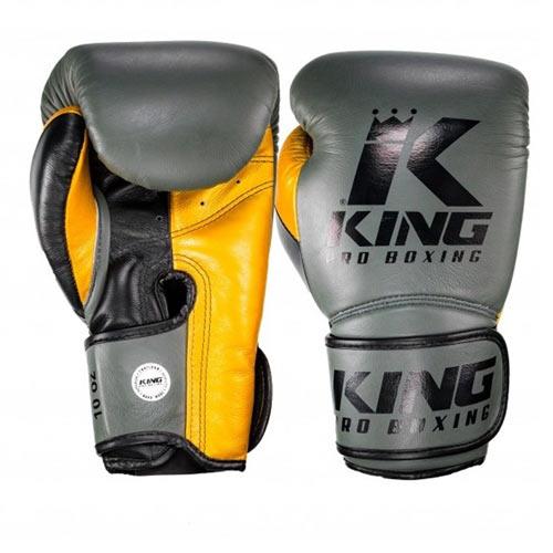 Rękawice ze skóry naturalnej -King Pro Boxing Rękawice bokserskie BG STAR 6