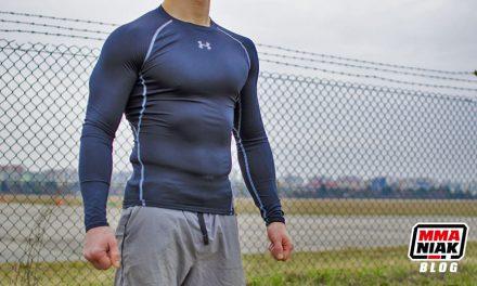 Odzież kompresyjna i rashguardy w treningu na świeżym powietrzu