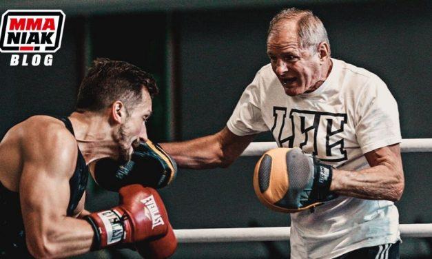 Praca na tarczach w treningu sportów walki