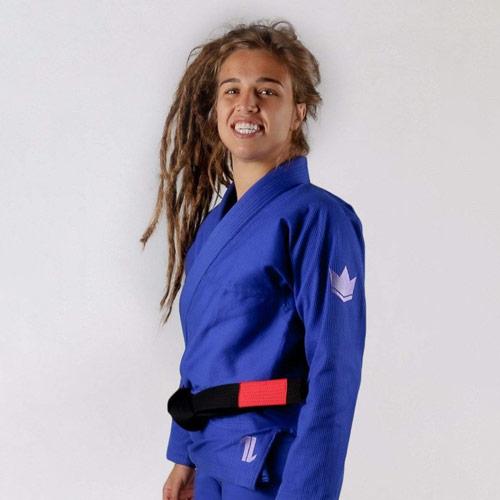 KiNGZ Kimono/Gi BJJ Damskie The One Niebieskie