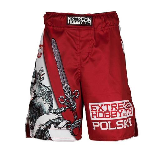 Extreme Hobby Spodenki MMA Dziecięce Polish Eagle