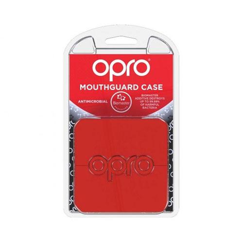 Opro Pudełko Antybakteryjne Czerwone