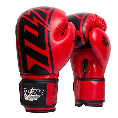 StormCloud Rękawice bokserskie Bolt 2.0 Czerwone